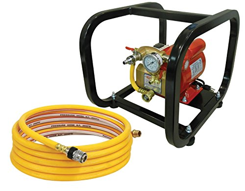 Reed Tool EHTP500C  Electric Hydrostatic Test Pump, 110V, Single Phase 50/60 Hz with Cage - Hydrostatic Test Water Pump