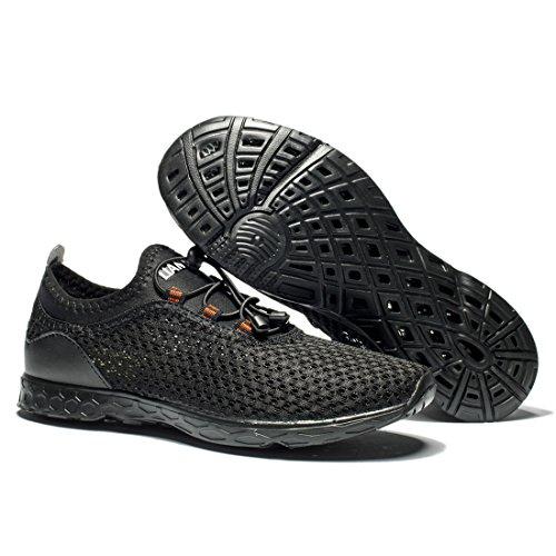 3 Shoes Sport Water Air Mesh Drying Black All Quick Cusselen Men 7vq6T