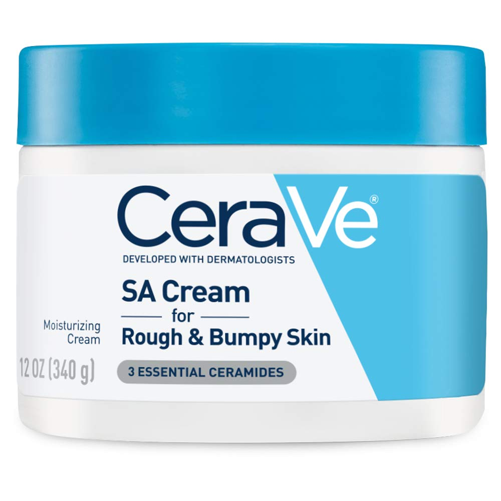 CeraVe SA Cream | 12 Ounce | Renewing Salicylic Acid Body Cream for Rough and Bumpy Skin | Fragrance Free: Beauty