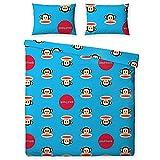 Childrens/Kids Paul Frank Spots Single Duvet Cover Bedding Set (Full) (Blue)