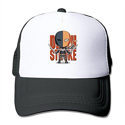 YYAASHOP Unisex Super Villain Deathstroke Poster Trucker Hats Snapback - Americas Hut Pizza Las