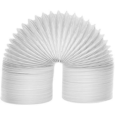 """Spares2go Extra Larga Universal de Condensador de Tubo de ventilación Manguera para Todas Las Marcas y Modelos de ventilación Secadora de Ropa (6m / 4"""")"""