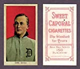 Ty Cobb 1909-11 T206 Tobacco (Red) (Sweet Caporal Back) Baseball Reprint Card (In its own case) (Detroit)
