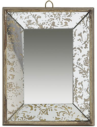 A&B Home 31499 Antique Style Frameless Wall Mirror