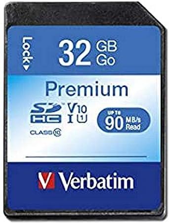 Verbatim Premium U1 Sdhc Speicherkarte 32gb Klasse Computer Zubehör