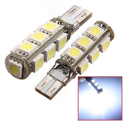 Inion® 13er Look xénon pour feux de position LED, Ampoules LED soffiten poires avec Intensive Luminosité T10, CanBus, Xenon Blanc env. 6000K 12V Ampoules LED soffiten poires avec Intensive Luminosité T10