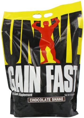 Universal Nutrition Gain rapide 3100, Chocolate Shake, 10-livres