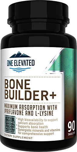 Comprehensive Bone Builder Calcium Supplement. Formulated with Highest Grade Calcium -Carbonate/ Hydroxyapatite/ Citrate, Magnesium, Zinc, D3. Works In Sync for Optimum Bone Health and Bone Strength.