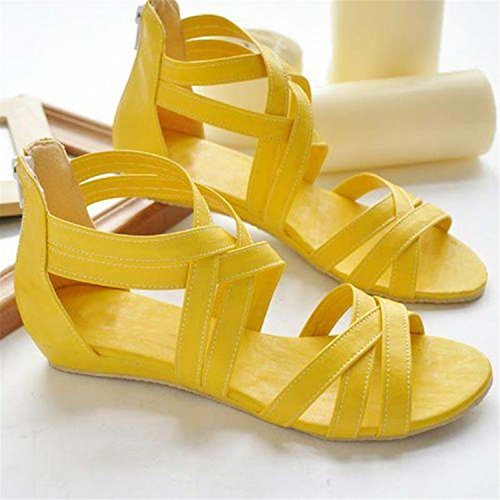 Women Black Sandals Summer Spring New Y0508616F Shoes Women White Shoes Geertiollk Brown H8w56xRw