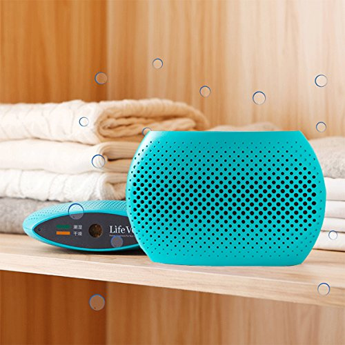 Invitop 110V-240V Wireless Rechargeable Mini Dehumidifier Absorb Moisture Air Dryer