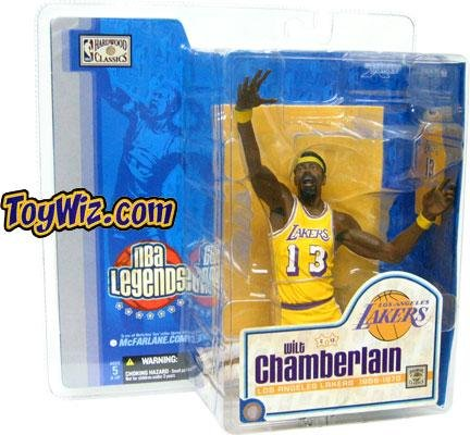 Variant Mcfarlane Nba 1 Figure (McFarlane Toys NBA Sports Picks Legends Series 1 Action Figure Wilt Chamberlain (Los Angeles Lakers) Yellow Uniform Variant)