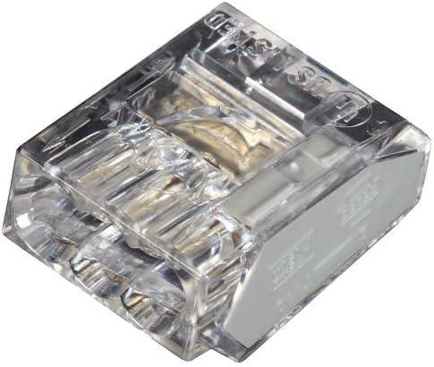 100/pi/èces Dominos de raccordement 3/x 2,5/mm/² sans vis