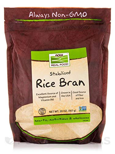 NOW Foods Rice Bran - 20 oz - 2 pk by NOW Foods
