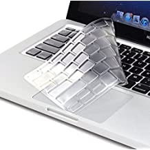 "Masino® Silicone Keyboard Cover Ultra Thin Keyboard Skin for MacBook Air 13"" MacBook Pro with Retina Display 13""15"" 17"" (Luminous at Night-Clear)"