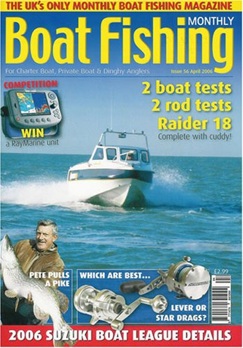 Boat Fishing Monthly by Warners Group Publications Plc