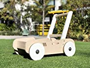 Wooden Walker & Wagon for Babies and Toddlers - Handcrafted
