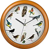 Bird Song Musical Wall Clock