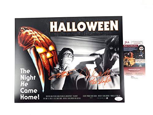 Nick Castle & John Michael Graham signed 11x14 PhotoExclusive Halloween -