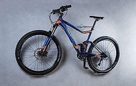 trelixx Soporte de Pared para Bicicleta acrílico Transparente para Bicicleta de montaña, Soporte de diseño para Bicicleta con Montaje en la Pared, Vendido mil Veces: Amazon.es: Deportes y aire libre