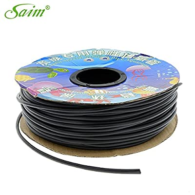 Saim Flexible Airline Tubing for Aquariums, Terrariums and Hydroponics, Airline Tubing 300-Foot Spool