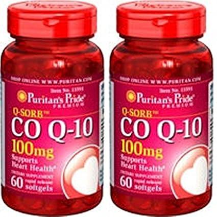 39c75b3d9 coenzyme Q10 100 mg 60 Perle.  Amazon.it  Salute e cura della persona