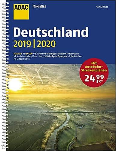 Adac Maxiatlas Deutschland 2019 2020 1 150 000 Adac Atlanten Amazon De Bucher