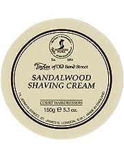 Taylor of old bond street scheercrème sandelhout, 150 g