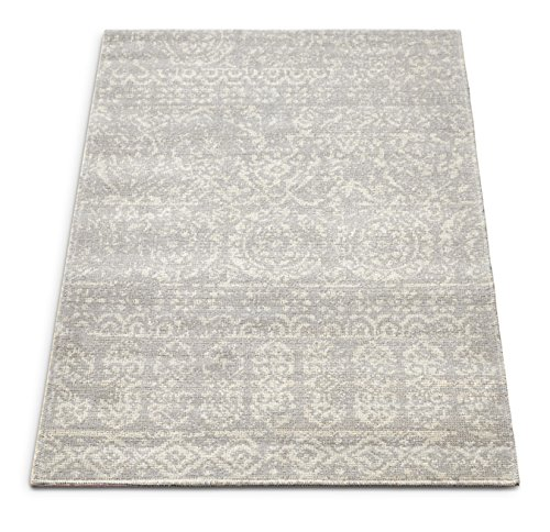 - Well Woven FI-87-3 Firenze Dorothea Modern Vintage Mosaic Tile Work Distressed Grey Accent Rug 2' x 3' Doormat