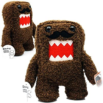 "Licensed 2 Play Domo Moustache 6 1/2"" Plush Novelty Doll: Toys & Games"