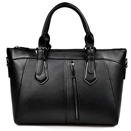 - KaiSasi 2016 New Womens Casual Shoulder Bag Bucket Bag Leather Handbag(Black)