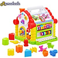 Ramakada Colorful and Attractive Funny Cottage Educational Toy, Learning House - Baby Birthday Gift for 1 2 3 Year Old Boy Girl Child