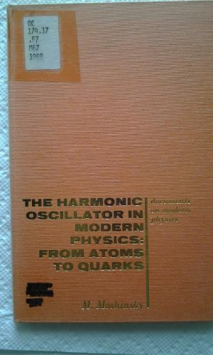 The harmonic oscillator in modern physics;: From atoms to quarks (Documents on modern physics)