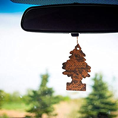 Little Trees Car Air Freshener 3-Pack (Leather): Automotive