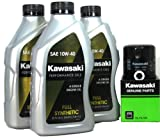 Kawasaki TERYX 750 FI 4X4 LE SPORT MONSTER ENERGY Full Synthetic Oil Change Kit