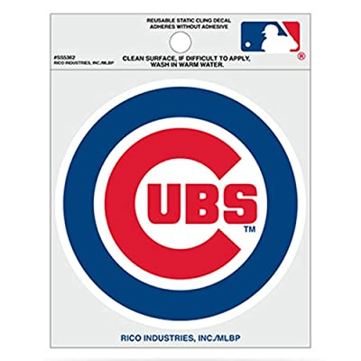 Rico MLB Chicago Cubs Small Static Decal: Sports & Outdoors