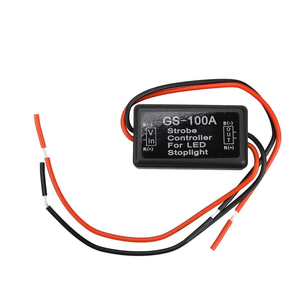 Ueb Flash Strobe Controller Flasher Module For Led Light Circuit Brake Stop Lamp Sports Outdoors