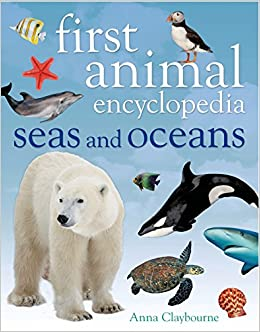 Book First Animal Encyclopedia Seas and Oceans