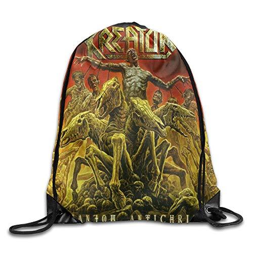 Guiping Kreator -Phantom Antichrist Unisex Drawstring Gym Sack Sport Bag