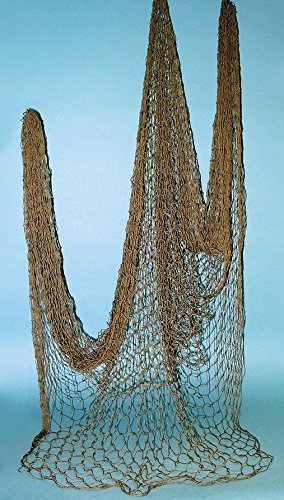 Authentic Nautical Fish Net - Decorative Use 5 X 10 New