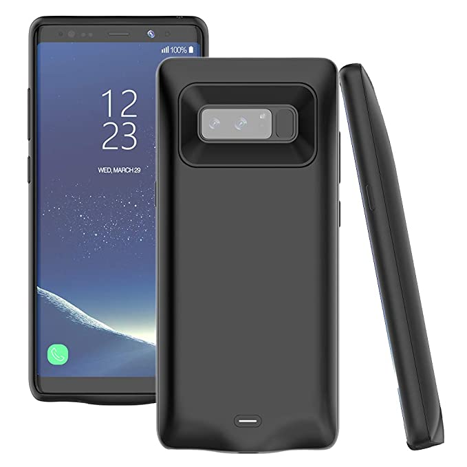 buy online a3eaf 33bf2 Amazon.com: Note 8 Battery Case,Accerzone Galaxy Note 8 5500mAh ...