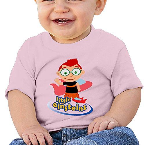 Cotton Tee Organic Fish - Little Einsteins Plane Organic Cotton Personalize Baby Kids Tee Shirt