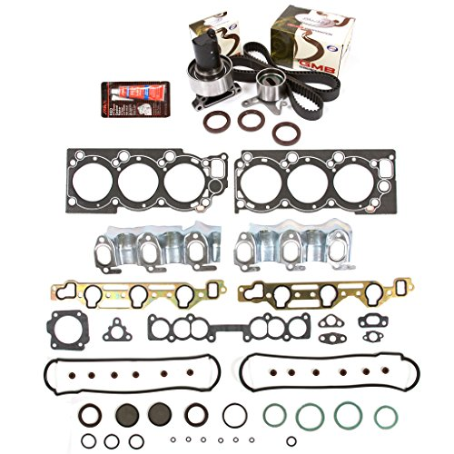 [Evergreen HSTBK2030 Head Gasket Set Timing Belt Kit 88-92 Toyota 4Runner Pickup 3.0 SOHC 3VZE] (3vze Head Gasket)