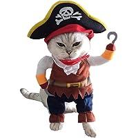 Little Amigo Food Products Disfraz Forma De Pirata para Perro O Gato Talla S Q1037