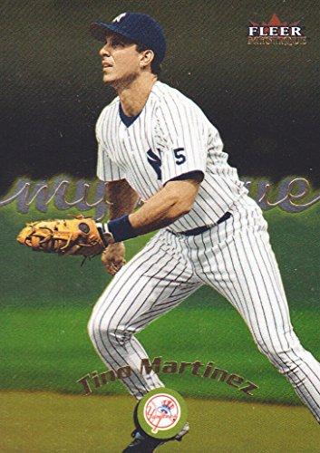 - 2000 Fleer Mystique Baseball Gold Parallel #119 Tino Martinez New York Yankees