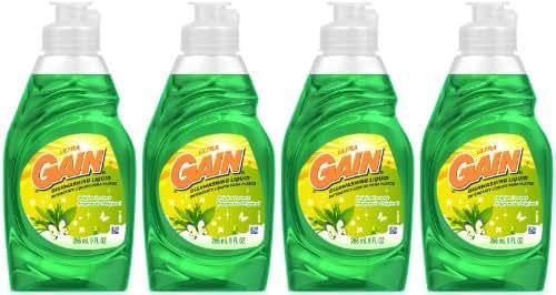 Dish Soap: Gain