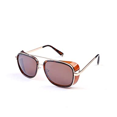 FGRYGF-eyewear Gafas de sol deportivas, gafas de sol vintage, Sun Glasses Iron Man Tony Stark Sunglasses For Men Women Vintage Steampunk Classic ...