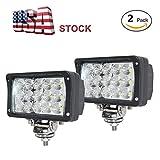 6 inch led spot lights - JAHURD Led work lights for truck, 2 PCS 6