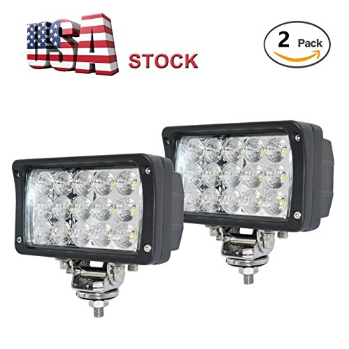 6 Led Car - JAHURD Led work lights for truck, 2 PCS 6