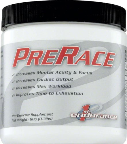 First Endurance Nutrition - First Endurance Innovative Racing Nutrients PreRace - 98g Canister 20 Servings
