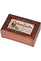 Cottage Garden Petite Rose Granddaughter Music Jewelry Box Plays You Light Up My Life